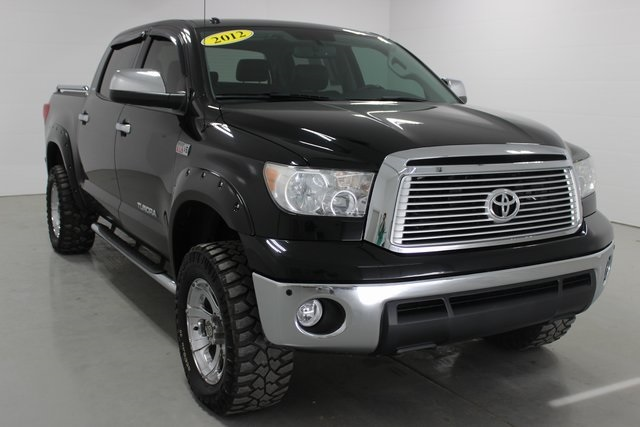Pre Owned 2012 Toyota Tundra Limited 4d Crewmax 4wd