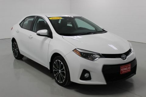 Pre-Owned 2015 Toyota Corolla S Plus